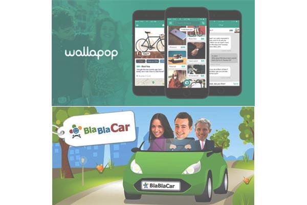 wallapop y bla bla car