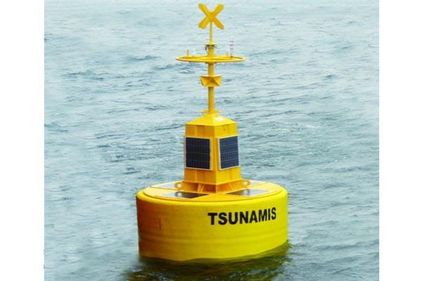 foto del sistema de alerta de tsunamis
