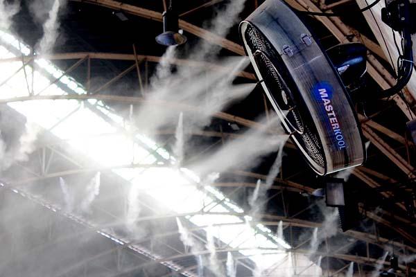 Foto de un humidificador de Invernadero grande