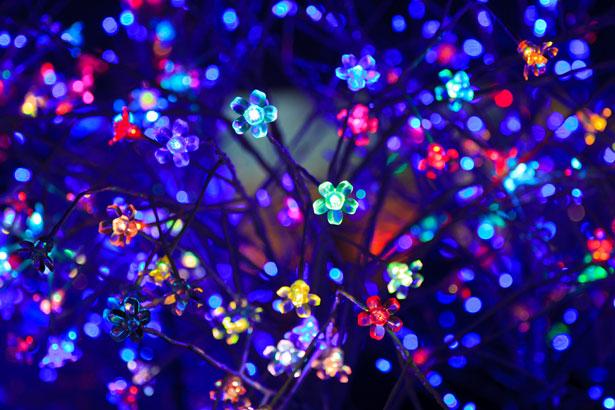Fotografía led colores