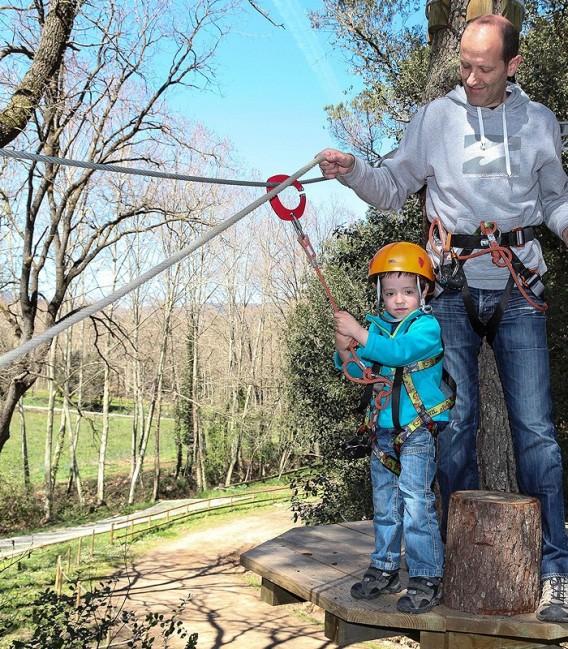 Parque aventura niños