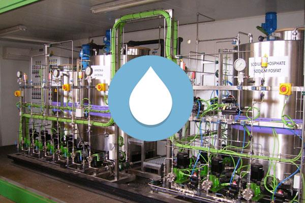 foto de sistemas para el tratamiento de aguas industriales